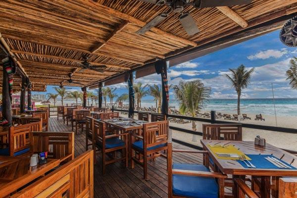 Restaurant Hotel Nyx Cancun Beachfront Resort Mexico